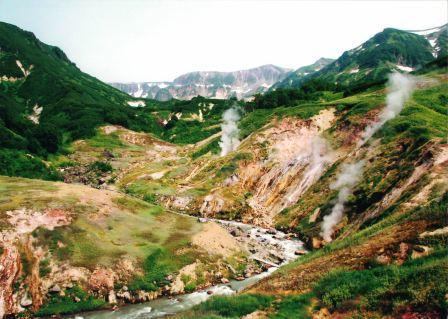 Das Tal der Geysire