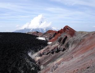 Besteigung des Awatschinskij Vulkans