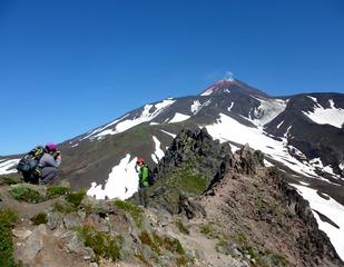 Vulkan Awatschinskij vom Berg Kamel